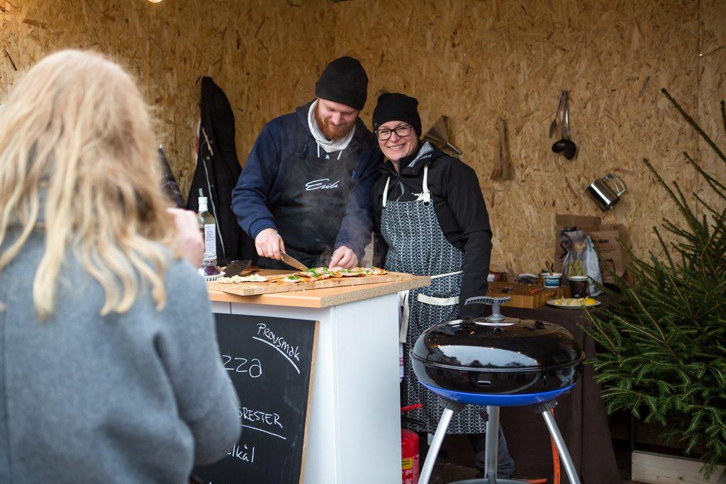 Pizzaevent i Landskrona. Foto: Torbjörn Lagerwall
