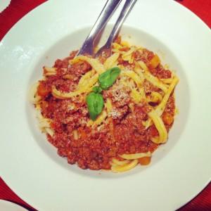 italiensk köttfärssås
