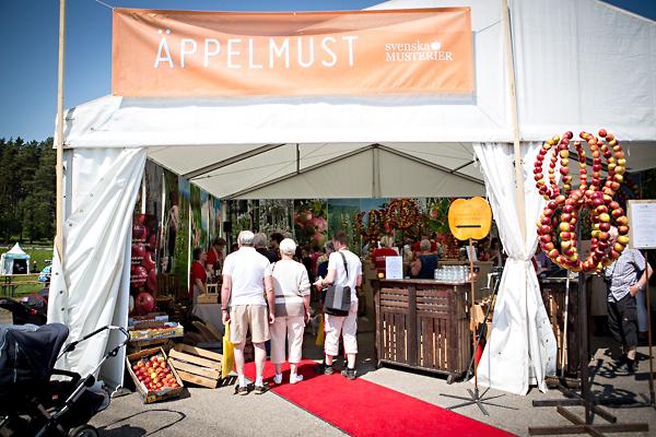 Äppelmust. Skånes Matfestival. Foto: Torbjörn Lagerwall