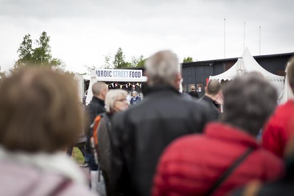 Skånes matfestival. Foto: Torbjörn Lagerwall