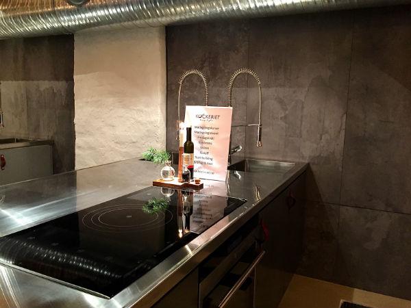 köksstation på kockeriet