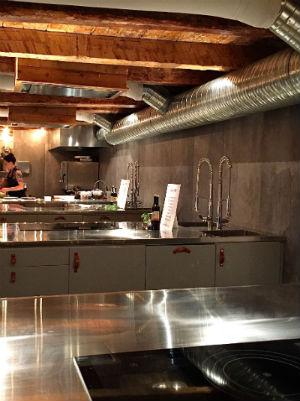 köksstationer på kockeriet