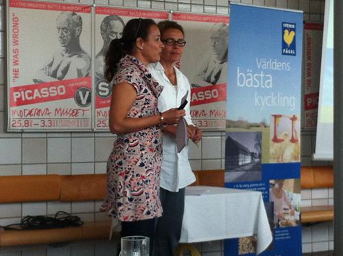 Maria Adonis och Anna Sjögren