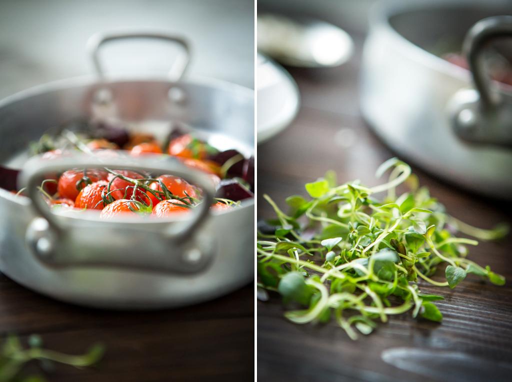 Ugnsbakade grönsaker. Foto: Torbjörn Lagerwall