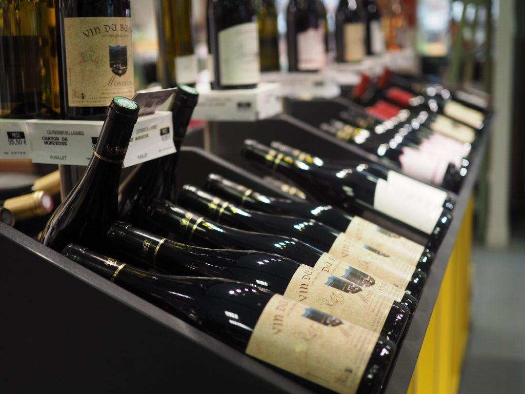 Franskt lokalt vin
