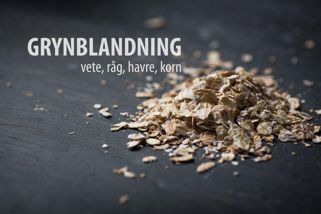 Grynblandning. Foto: Torbjörn Lagerwall
