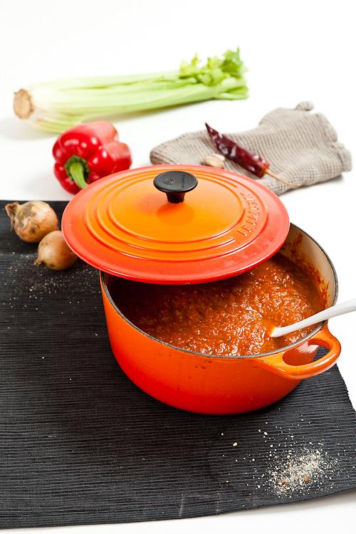 tomat- och grönsakssås. foto: Torbjörn Lagerwall