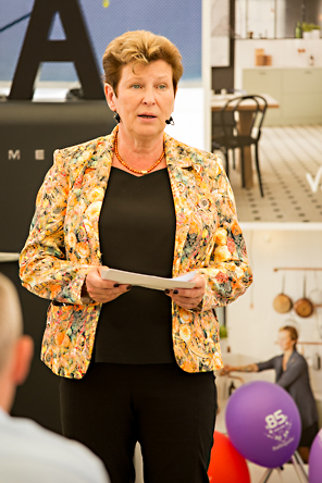 Landshövding Margareta Pålsson. Skånes Matfestival. Foto: Torbjörn Lagerwall