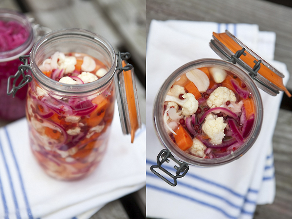 picklade grönsaker. Foto: Torbjörn Lagerwall