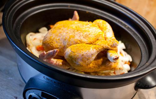 kyckling i crock-pot