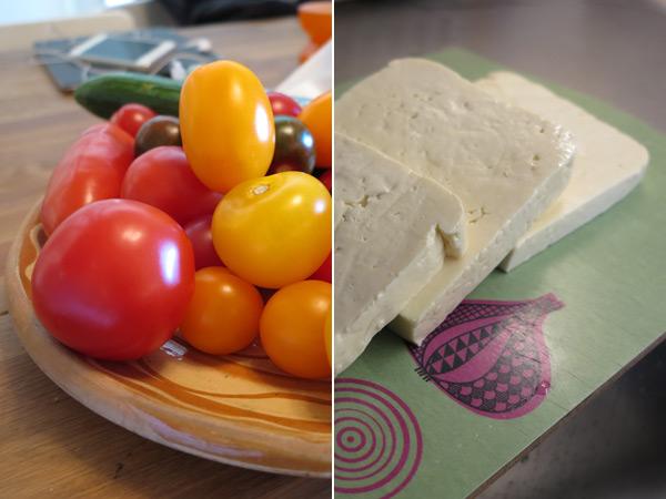ost och tomater. Foto: Sanna Ohlander