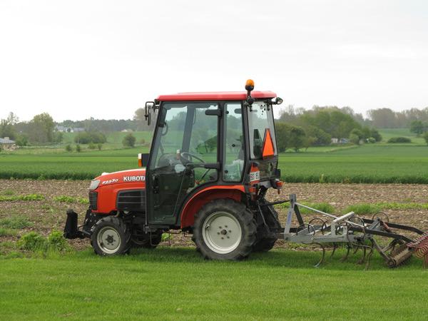 traktor. foto: Sanna Ohlander